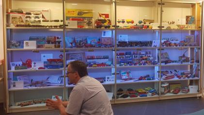 """""""Spielzeugland Thüringen"""" eine Ausstellung in der UNI-Bibliothek Ilmenau"""
