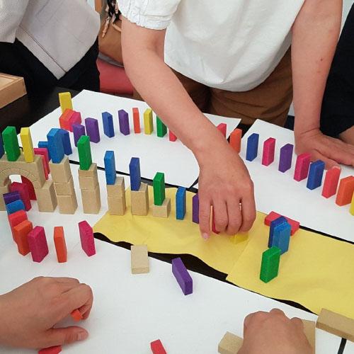 Pädagogisch wertvolles Spielzeug